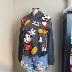Disney's Mickey Mouse Big Toss Hoodie SZ Small